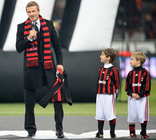 david beckham wallpaper milan. David Beckham News