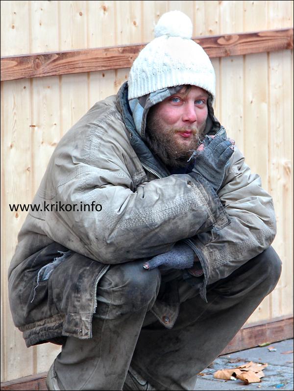 warsaw beggar
