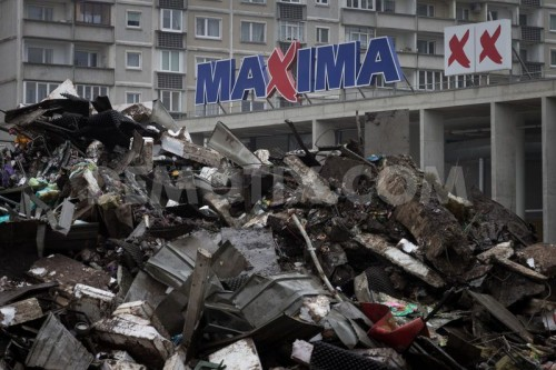 maxima roof collapse in riga latvia